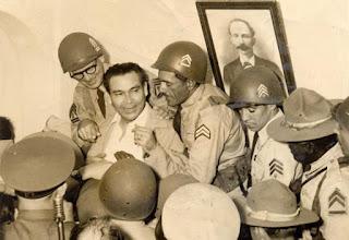 La jauría sedienta de los militares tras el golpe  del sargento taquígrafo devenido dictador.