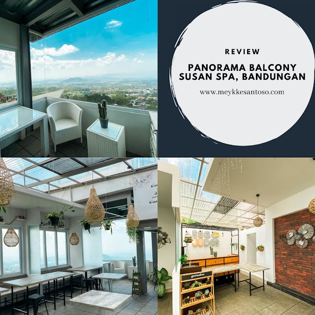 Panorama Balcony di Susan Spa and Resort Bandungan