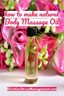 How to make natural body massage oil