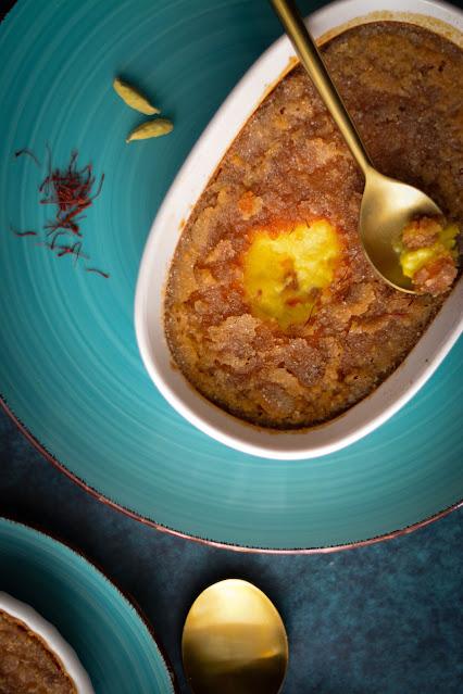 Creme Brulee recipe with saffron