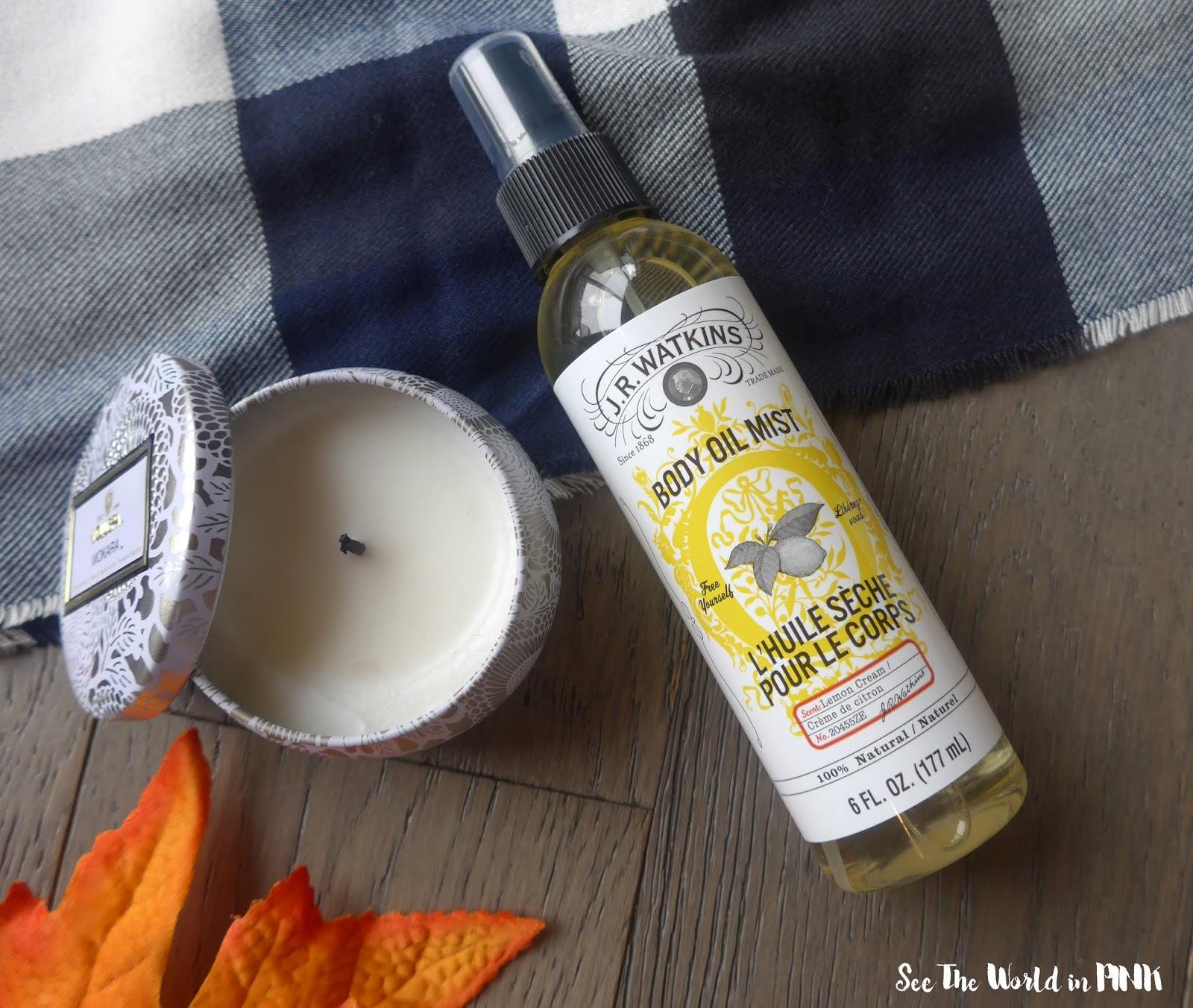 JR Watkins Lemon Cream Body Oil Mist