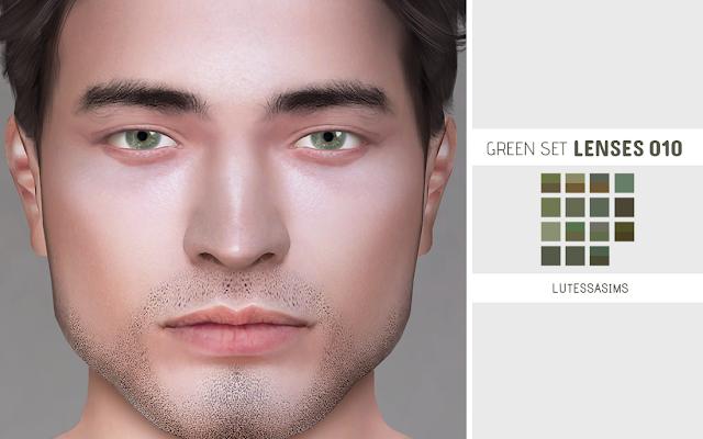 Green lenses for the sims 4