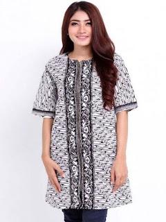 model baju batik atasan sarimbit
