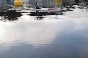 Olah Raga Dayung Wanita Norwegia di Teluk Stavanger
