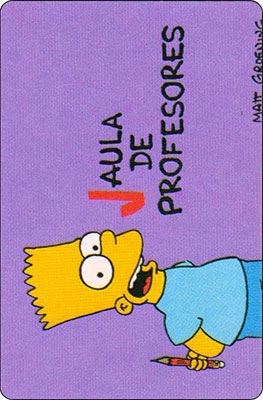 Bollycao The Simpsons Cromo 28