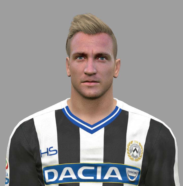 PES 2017 Maxi Lopéz (Udinese Calcio 1896) Face by Facemaker DanielValencia_EA
