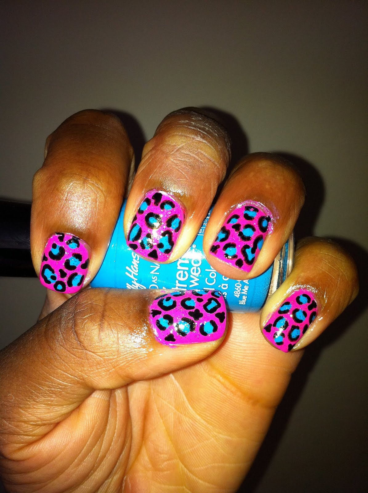 The gallery for --> Cute Nails Cheetah Designs