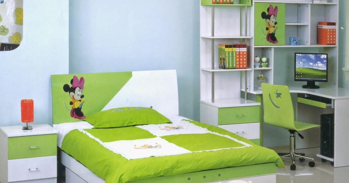 Desain Kamar Tidur Minimalis Warna Hijau Gambar Desain Rumah Minimalis