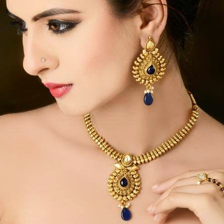 Indian Jewelry 2015   Necklace And Earring Designs For ...