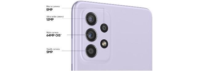 Samsung Galaxy A52s 5G Camera