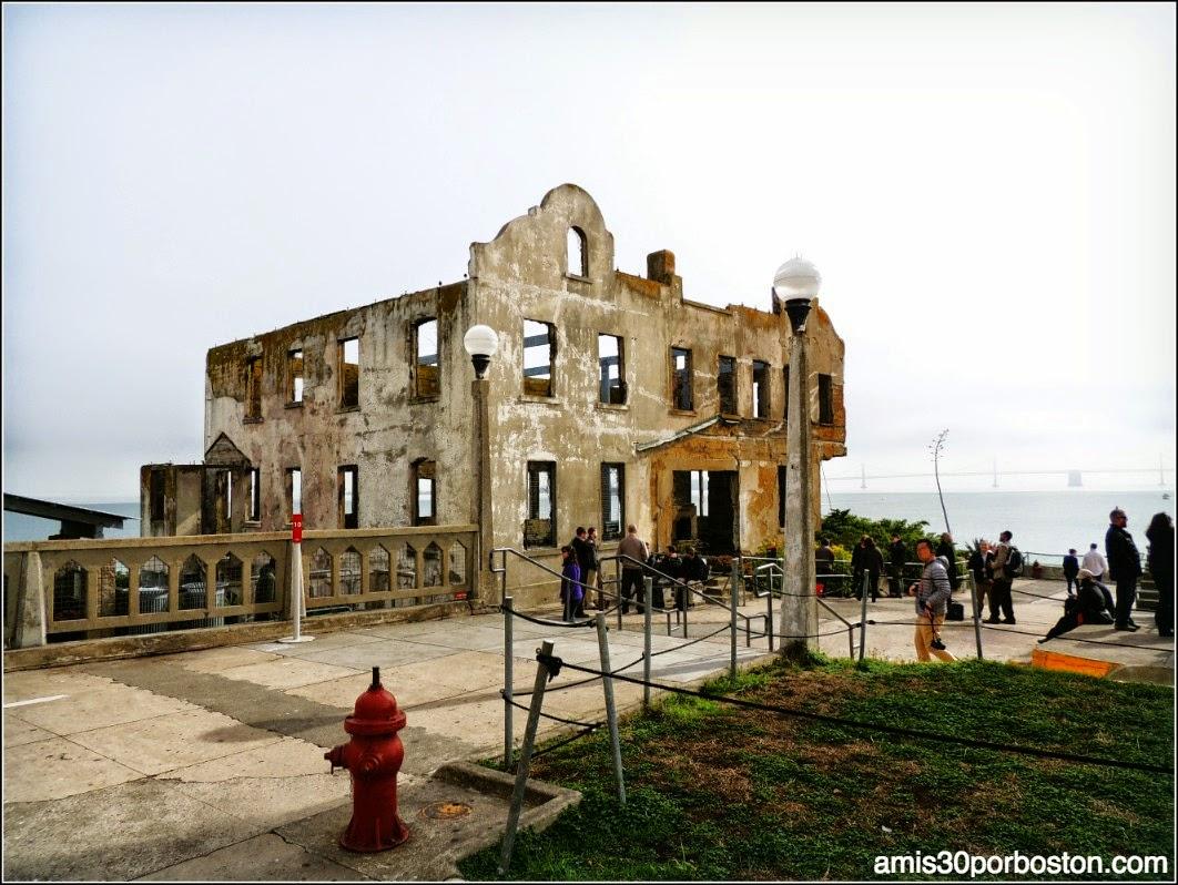 La Prisión de Alcatraz: La Casa del Alcaide