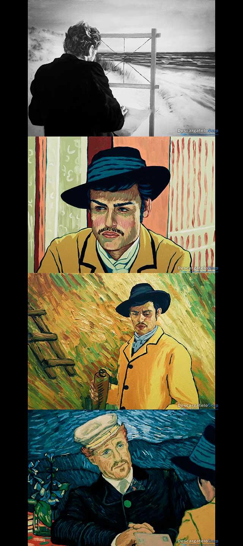 Cartas de Van Gogh (2017) HD 1080p Latino
