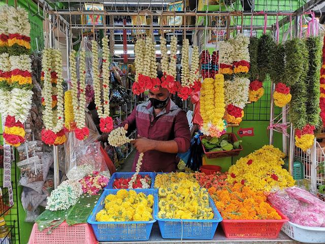 Flower shop at Campbell Lane