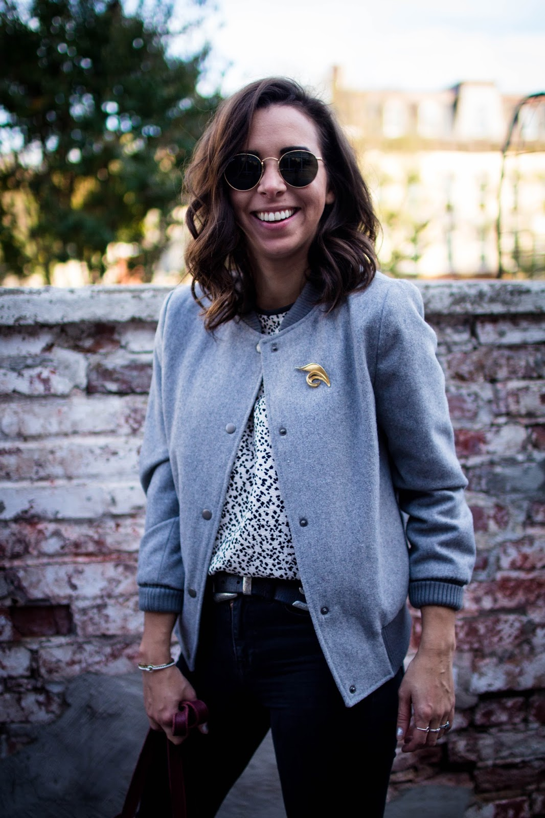 How to style a bomber jacket.