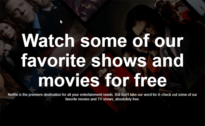 Watch Netflix Originals like Stranger Things for FREE even without an account!