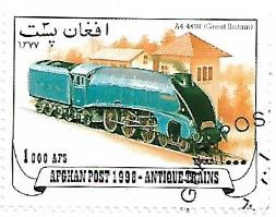 Selo Locomotiva a vapor A4 4498