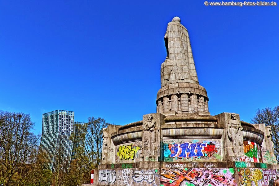 Bismarck Denkmal Rückseite