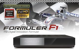 FORMULER F3:FORMULER F1 ATUALIZAÇAO Receptor-linux-formuler-f3