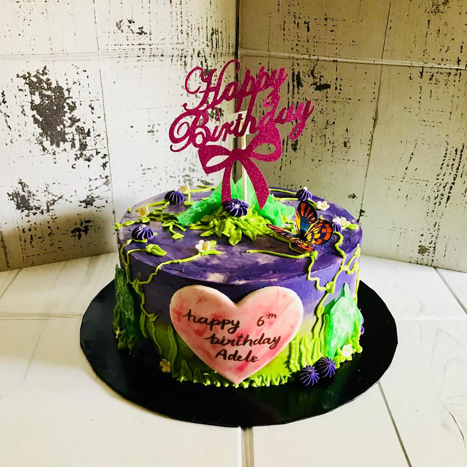 halal wedding cake singapore izah s kitchen watercolor cake singapore halal watercake 15036