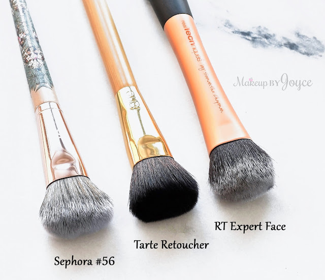 Sephora Collection Pro Flawless Airbrush #56 Dupe Tarte Retoucher Real Techniques Expert Face