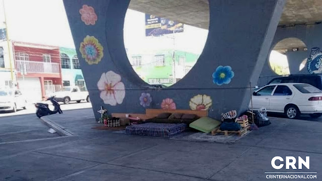 persona sin hogar en Aguascalientes