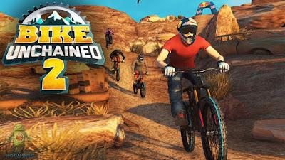 لعبة سباق الدراجات Bike Unchained 2 مهكرة للأندرويد