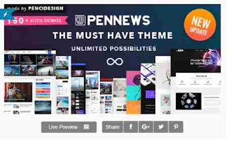 PenNews Multi-Purpose AMP WordPress Theme NewsMagazine
