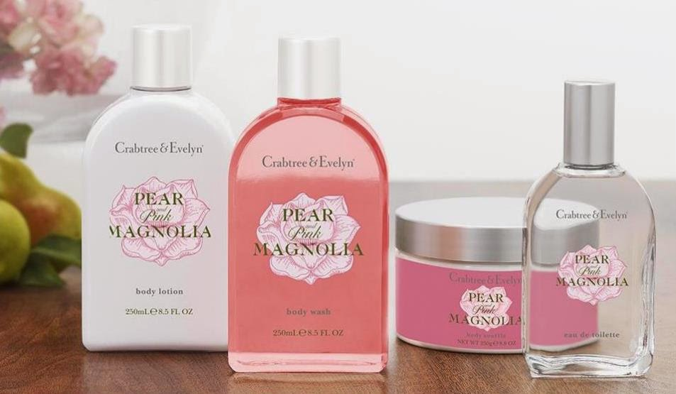 Crabtree & Evelyns Pear and Pink Magnolia Eau de Toilette and Hand Therapy.jpeg