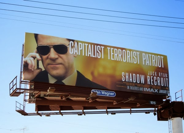 Shadow Recruit Capitalist Terrorist Patriot billboard