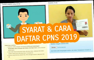 Cara Mendaftar CPNS Online 2019 Via Handphone