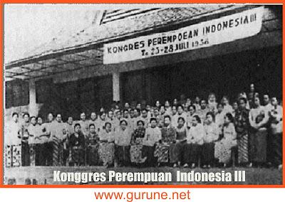 Kongres Perempuan III berlangsung di Bandung