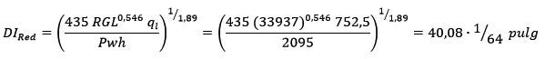 reductores de superficie correlación gilbert