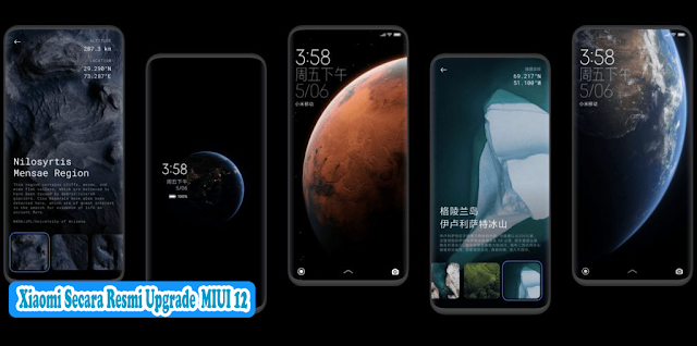 Xiaomi Secara Resmi Upgrade  MIUI 12-