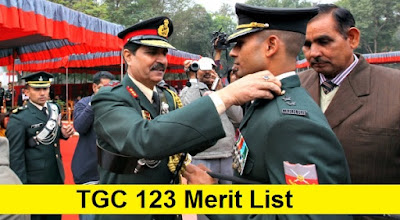 TGC 123 Merit List