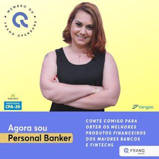 Mileide Weber Francelino Personal Banker, membro da Franq Openbank