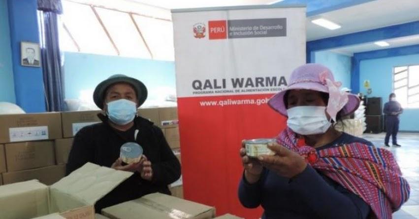 QALI WARMA: Municipalidades de Ahuac, Muquiyauyo y Janjaillo en la región Junín reciben más de 86 toneladas de alimentos del programa social - www.qaliwarma.gob.pe