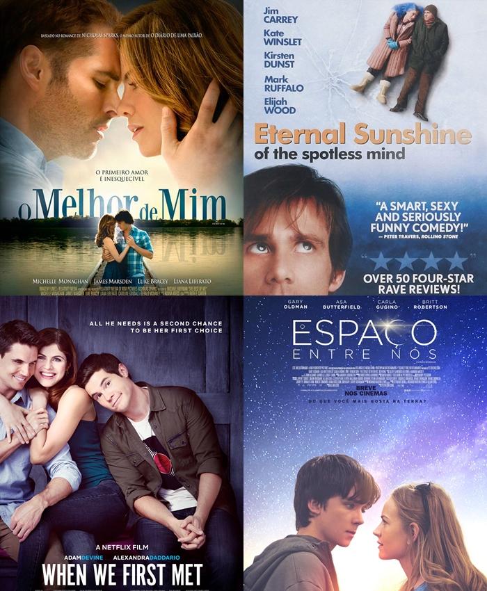 catálogo filmes românticos netflix 2020