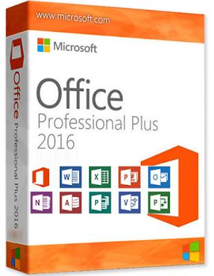 Microsoft Office Pro Plus 2016 Crack Latest Version 32 bit + 64 bit