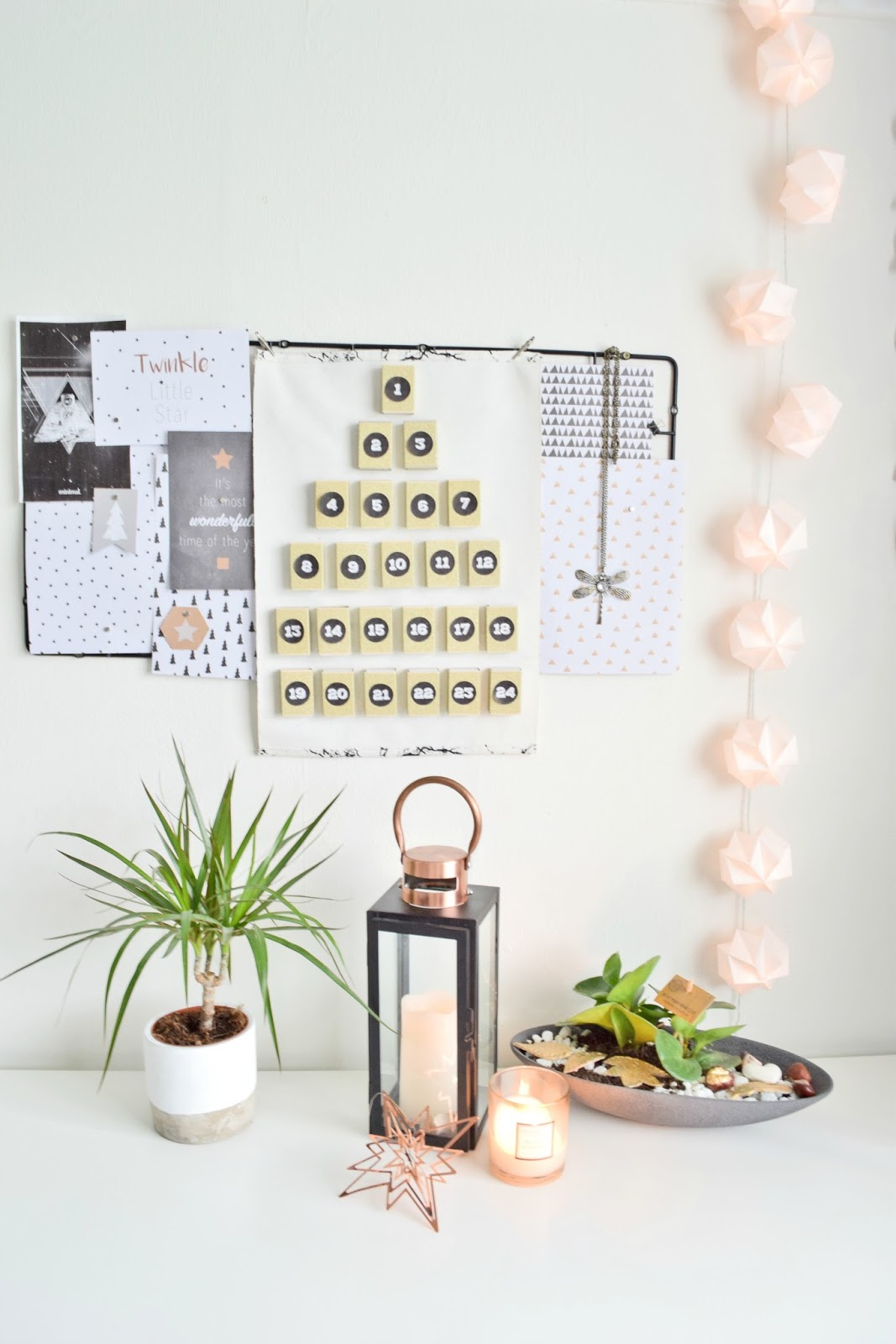 DIY Advent Calendar | Cleo-inspire