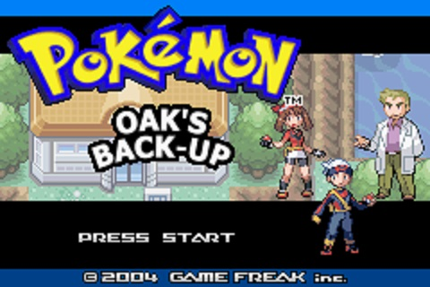 Pokemon Professor Oak's Back-Up