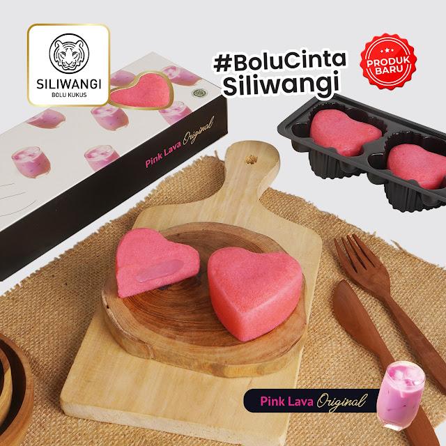 Bolu Cinta Pink Lava