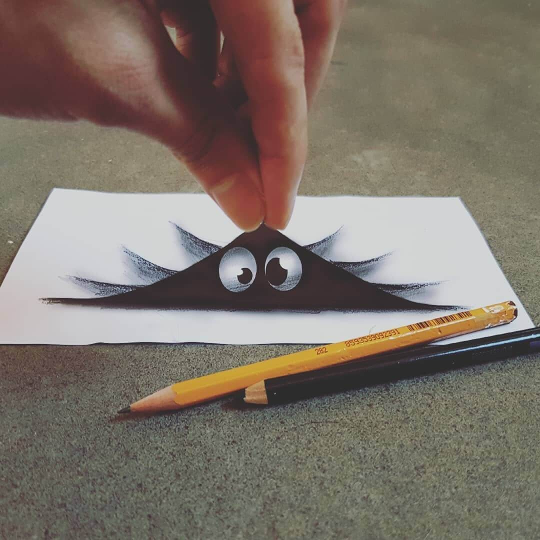 14-Hiding-Eyes-Ramon-Bruin-Various-styles-of-3D-drawings-www-designstack-co