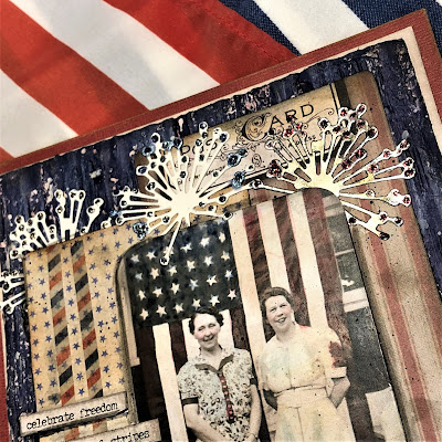Sara Emily Barker https://sarascloset1.blogspot.com/2019/06/celebrate-freedom.html Celebrate Freedom Mixed Media Panel 3