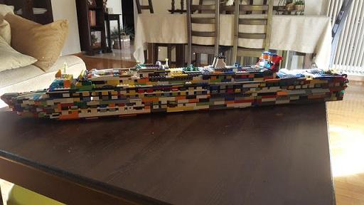 Lego love boat