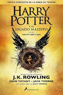 El legado maldito    Harry Potter #8   J.K. Rowling