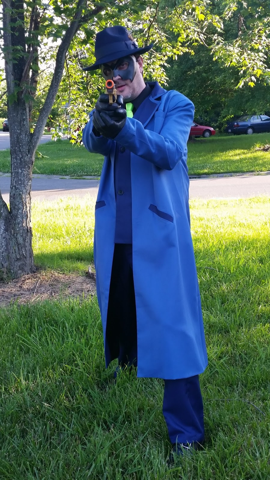 The Venture Brothers Blue Morpho Cosplay Costume Custom Made