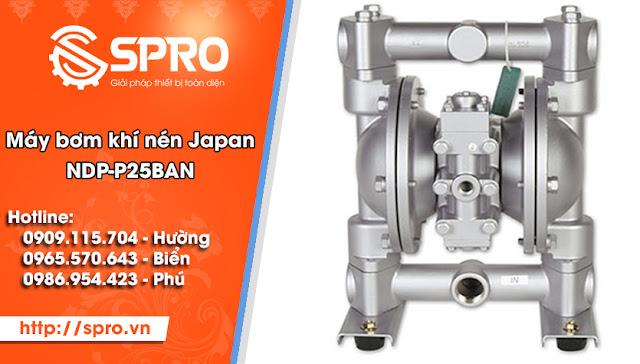 Máy bơm màng khí nén JAPAN NDP-P25BAN
