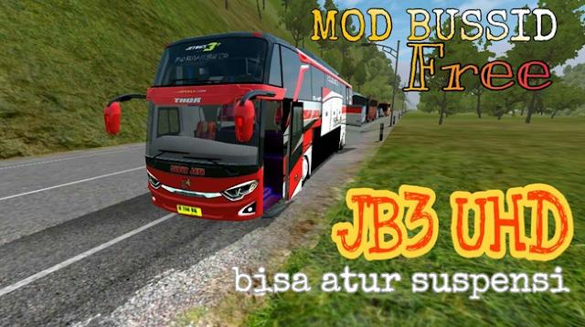 Download Mod Bussid JB3 SHD Bus Simulator Indonesia Gratis Terbaru 2019