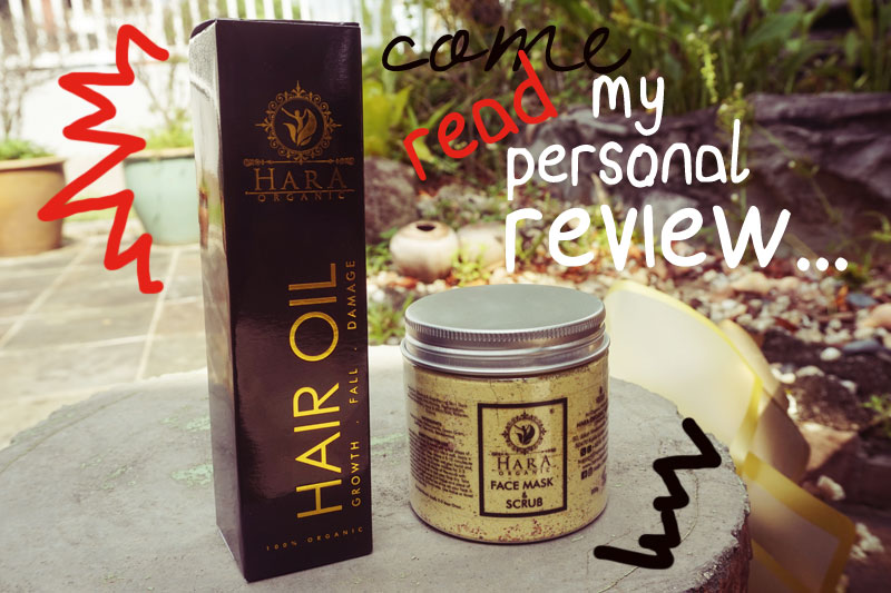 Hara Organic Face Mask & Scrub Review / Shanaz AL