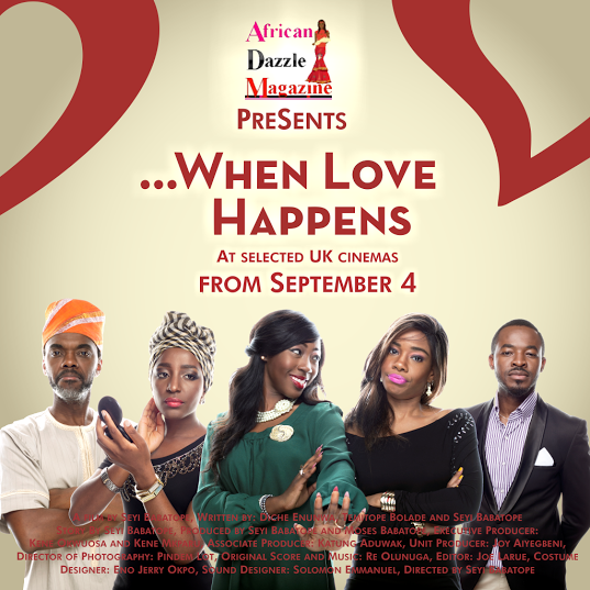 When Love Happens UK movie Premiere